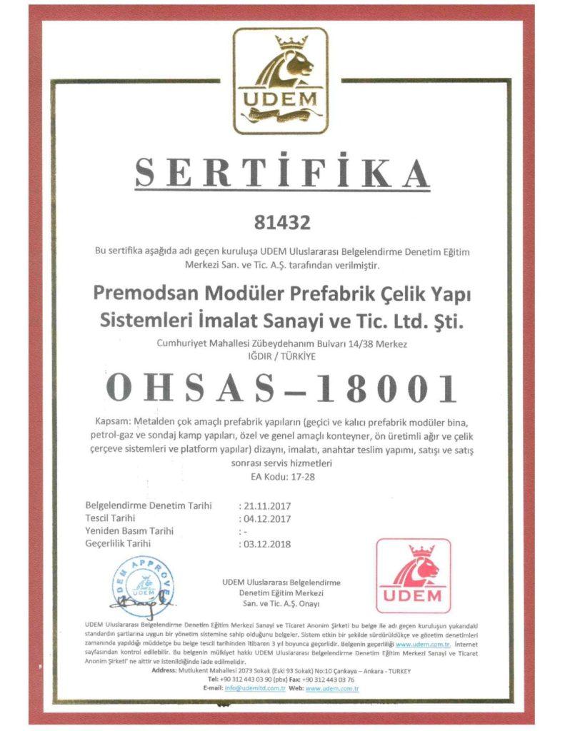 OHSAS 18001-TR